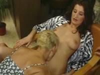 Deux lesbiches se donnent du plaisir