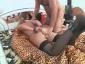 Femme soumise en plan fetish